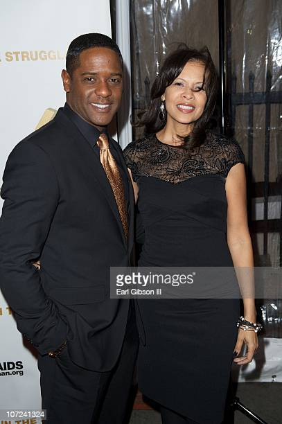 Blair Underwood and Desiree DeCosta on the red carpet for the 10th Annual Heroes In The Struggle Gala Concert on December 1 2010 in Hollywood...
