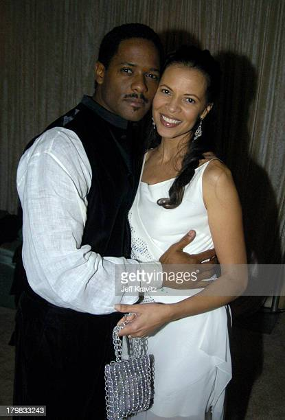 Blair Underwood and wife Desiree DaCosta during The 61st Annual Golden Globe Awards HBO After Party at Griff's Restaurant in Beverly Hills California...