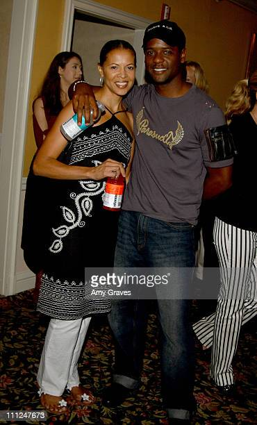 Blair Underwood and wife Desiree with Vitaminwater