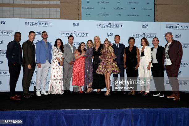 Blair Underwood, Colin Hanks, Billy Eichner, Elizabeth Reaser, Taran Killam, Beanie Feldstein, Sarah Paulson, Mira Sorvino, Annaleigh Ashford, Clive...