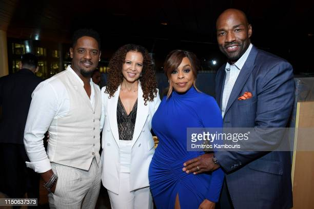 Blair Underwood Desiree DaCosta Niecy Nash and Jay Tucker attend the World Premiere of Netflix's When They See Us at Lincoln Ristorante on May 20...
