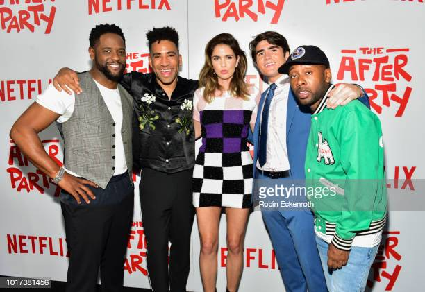 Producer Trevor Engelson and guest attend the screening of Netflix's 'The After Party' at ArcLight Hollywood on August 15 2018 in Hollywood California