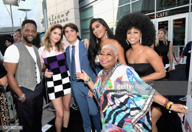 Blair Underwood Shelley Hennig Harrison Holzer Parisa Amiri Luenell and LA Love The Boss attend Netflix's 'The After Party' special screening on...