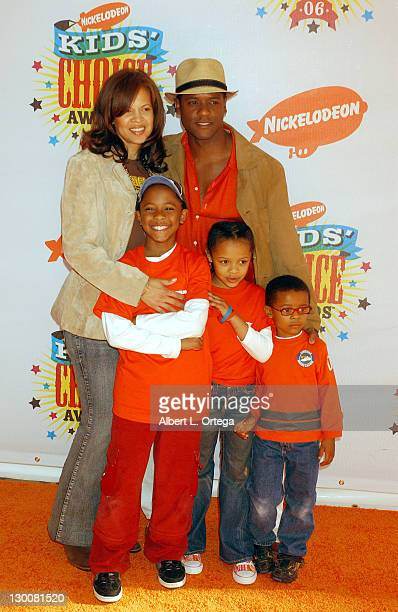 Blair Underwood wife Desiree Paris Brielle and Blake Ellis