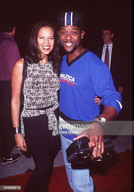 Blair Underwood Wife during Gattaca Premiere at Avco Cinema in Westwood California United States
