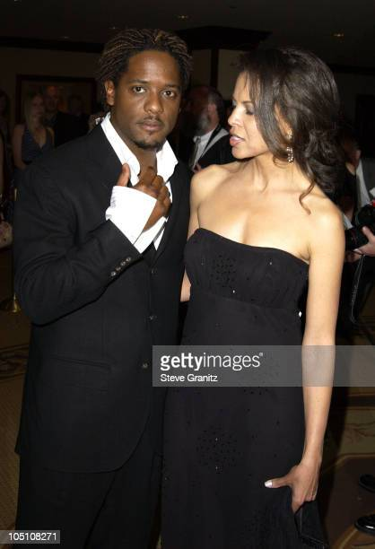 Blair Underwood Wife during The 10th Annual Race to Erase MS Arrivals at Century Plaza Hotel in Century City California United States