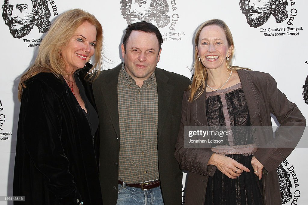Blaire Baron Larsen; Jason Alexander and Julia Wyson attend The Los Angeles Drama Club And Magic Castle Host 1st Gala Fundraiser And Benefit Performance 'Tempest In A Teacup' at The Magic Castle on November 11, 2012 in Hollywood, California.