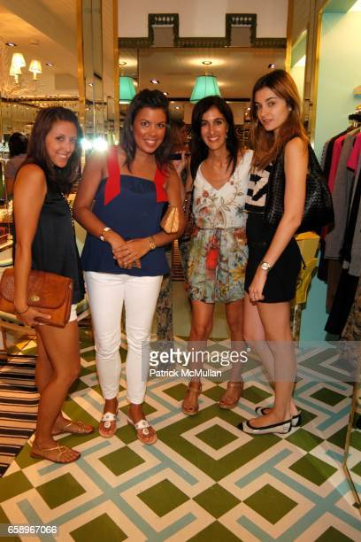 Blaire Hickman Dana Icaza Jennifer Gibgot and Alizee Guinochet attend Charity event for Best Buddies with The Turks Caicos Sporting Clubre at Tory...