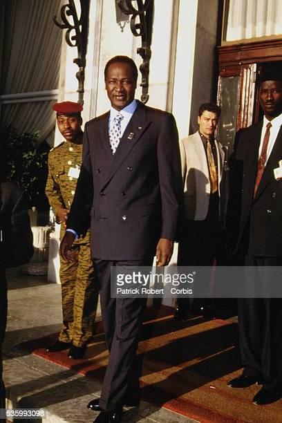 Blaise Compaore, président du Burkina Faso.