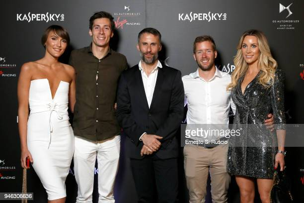 Blaise Dyer Alex Lynn Aldo Fucelli Pessot del Bo' Sam Bird and Hollie Harrington attend Racing Goes Green an event organized by Kaspersky Lab...