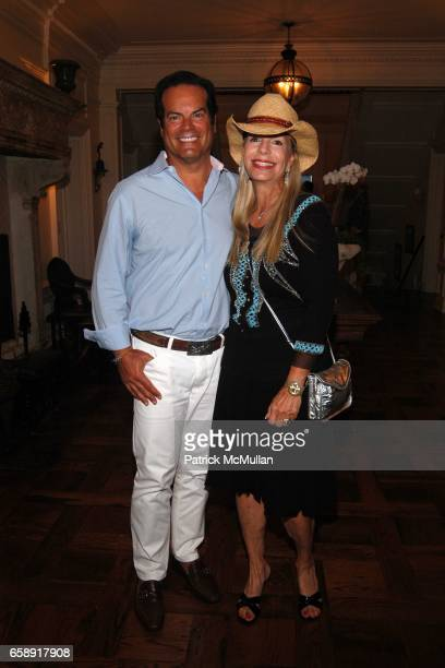 Blaise Labriola and Princess Yasmin Aga Khan attend BEST BUDDIES Hamptons Gala at Home of Anne Hearst McInerney and Jay McInerney on August 21 2009...