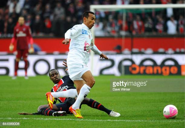 EDUARDO / Blaise MATUIDI Paris Saint Germain / Ajaccio 26e journee Ligue 1 Photo Dave Winter / Icon Sport