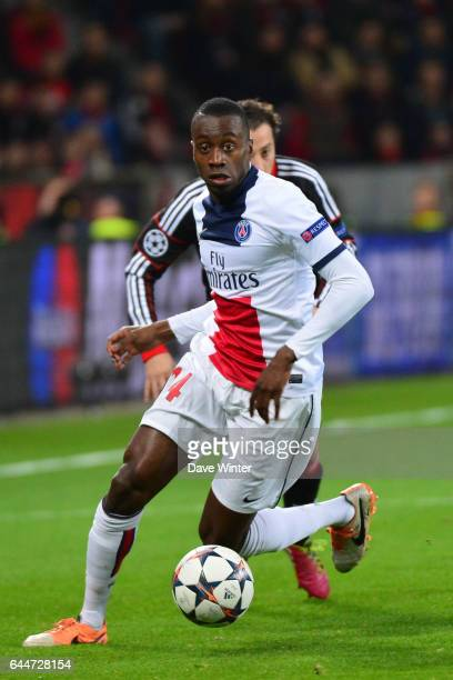Blaise MATUIDI Bayer Leverkusen / Paris Saint Germain 1/8emeFinale Aller Ligue des Champions Photo Dave Winter / Icon Sport