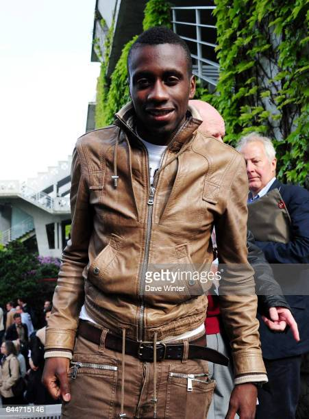 Blaise MATUIDI Jour 6 Roland Garros 2013 Photo Dave Winter / Icon Sport