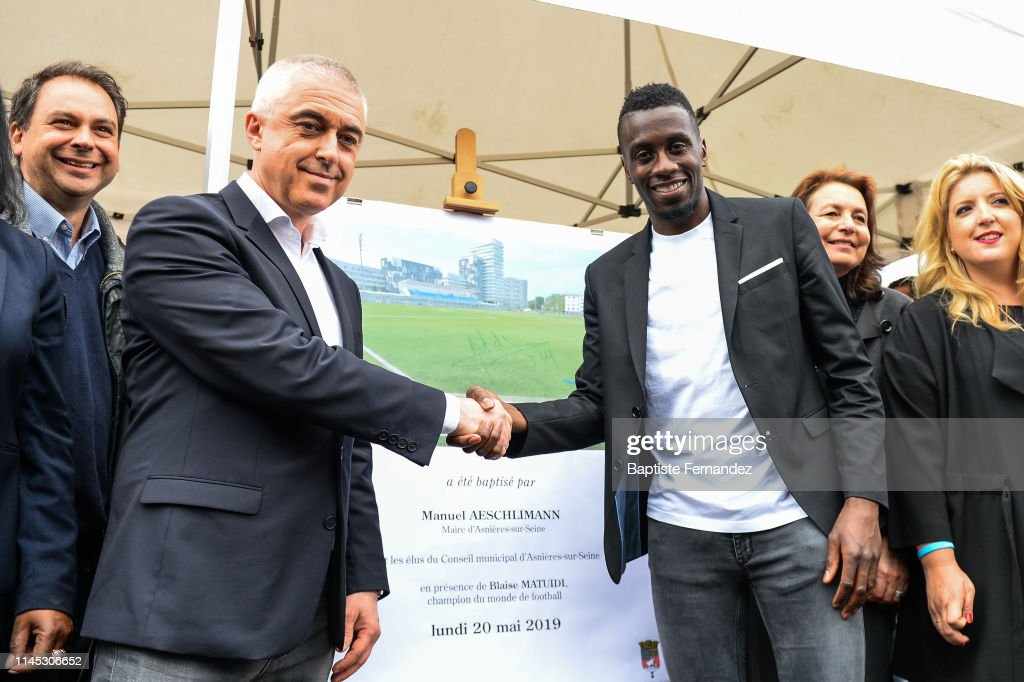 FRA: Inauguration Blaise Matuidi stadium