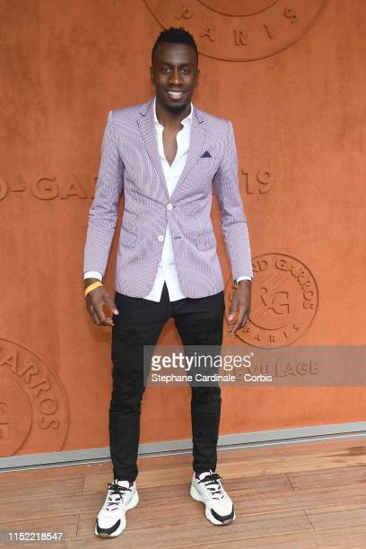 Blaise Matuidi attends the 2019 French Tennis Open Day Three at Roland Garros on May 28 2019 in Paris France