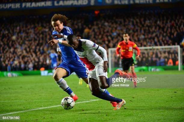 Blaise MATUIDI / David LUIZ Chelsea / Paris Saint Germain 1/4Finale Retour Champions League Londres Photo Dave Winter / Icon Sport