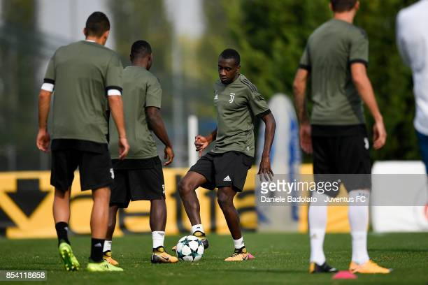 Blaise Matuidi during a Juventus Training Session at Juventus Center Vinovo on September 26 2017 in Vinovo Italy