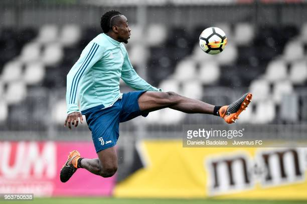 Blaise Matuidi during the Juventus training session at Juventus Center Vinovo on May 2 2018 in Vinovo Italy