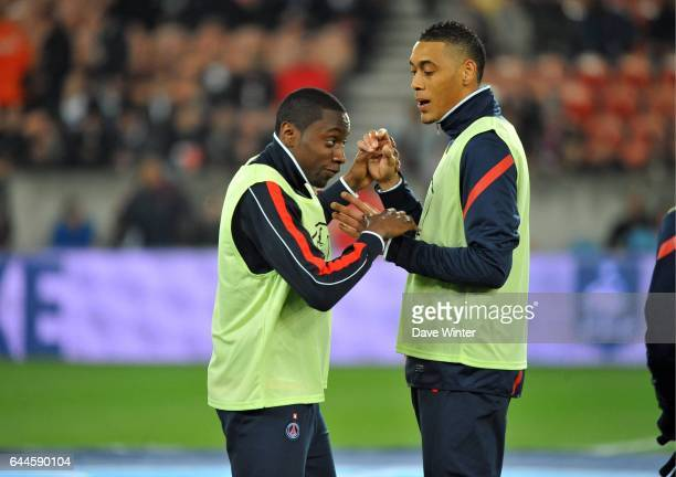 Blaise MATUIDI / Guillaume HOARAU PSG / Lyon 1/4 Finale Coupe de France Photo Dave Winter / Icon Sport