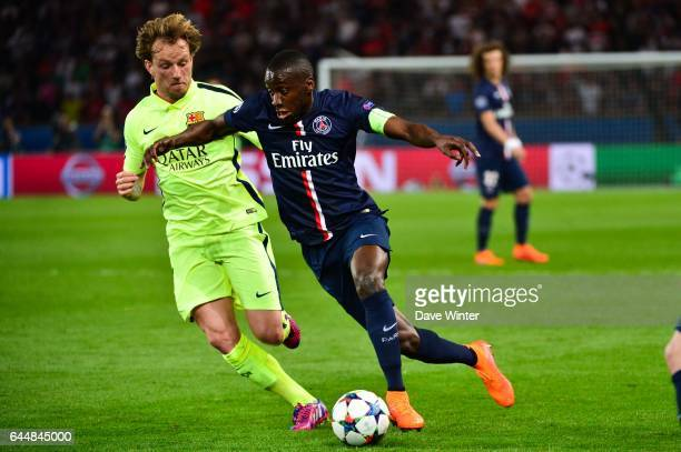 Blaise MATUIDI / Ivan RAKITIC Paris Saint Germain / Barcelone 1/4Finale Aller Champions League Photo Dave Winter / Icon Sport