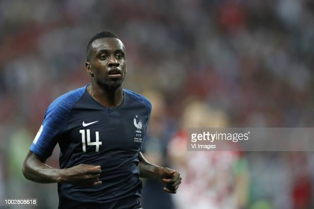 Blaise Matuidi of France during the 2018 FIFA World Cup Russia Final match between France and Croatia at the Luzhniki Stadium on July 15 2018 in...