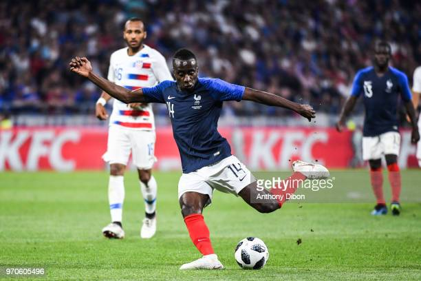 Blaise Matuidi of France during the International Friendly match between France and United States at Groupama Stadium on June 9 2018 in Lyon France