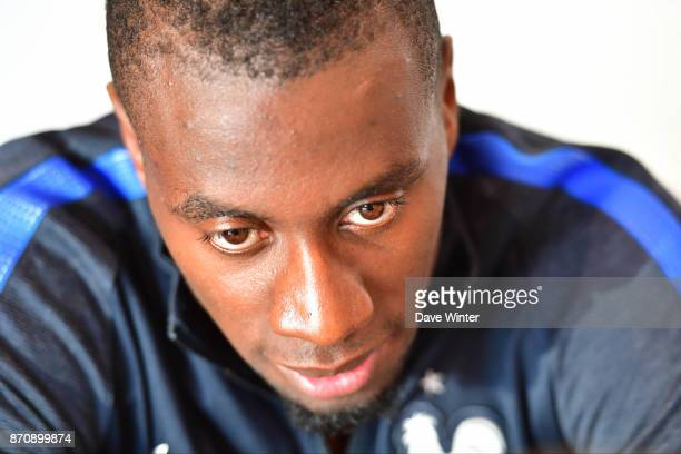 Blaise Matuidi of France during the press conference at the Centre National de Football in Clairefontaine en Yvelines France on November 6 2017
