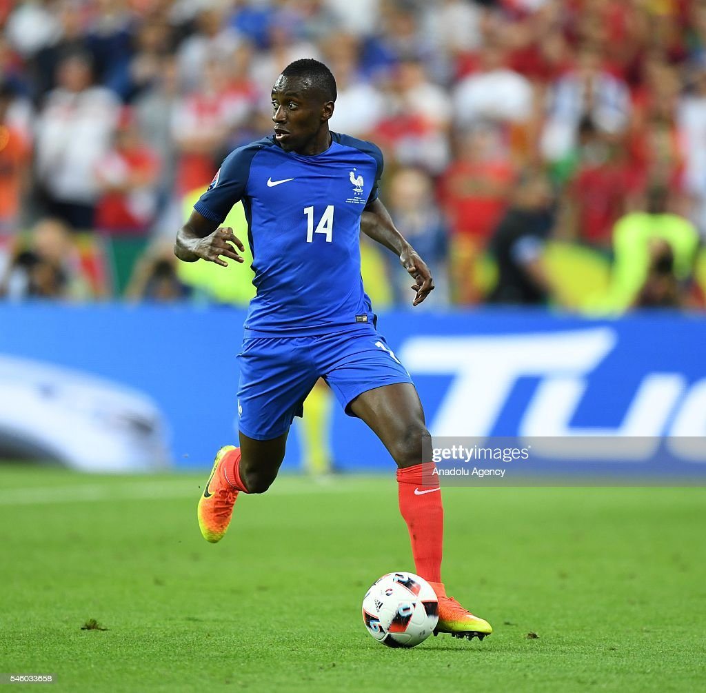 Blaise Matuidi of France in action during the Euro 2016 final match between Portugal and France at Stade de France in Paris, France on July 10, 2016.