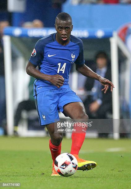 Blaise Matuidi of France in action during the UEFA Euro 2016 quarter final match between France and Iceland at Stade de France on July 3 2016 in...
