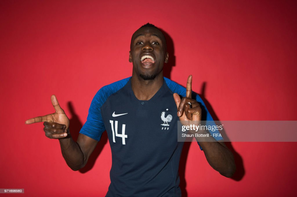 Blaise Matuidi of France poses for a potrait at the team hotel during the official FIFA World Cup 2018 portrait session at on June 11, 2018 in Moscow, Russia.