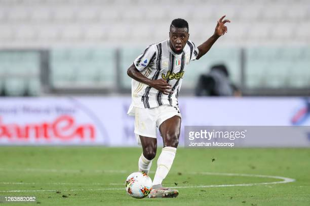 Blaise Matuidi of Juventus during the Serie A match between Juventus and AS Roma on August 01, 2020 in Turin, Italy.