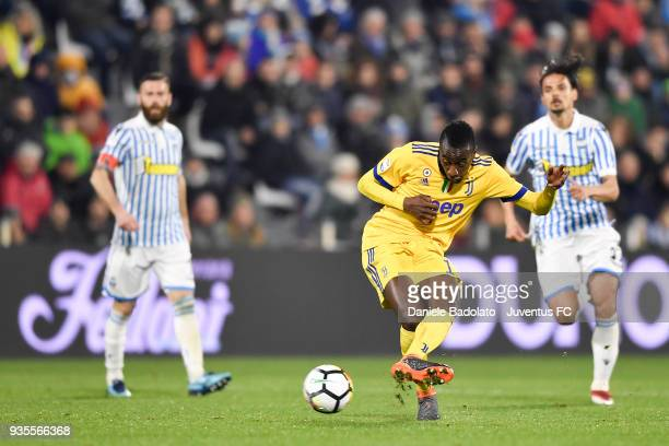 Blaise Matuidi of Juventus during the serie A match between Spal and Juventus at Stadio Paolo Mazza on March 17 2018 in Ferrara Italy