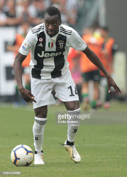 Blaise Matuidi of Juventus FC in action during the serie A match between Juventus and US Sassuolo at Allianz Stadium on September 16 2018 in Turin...