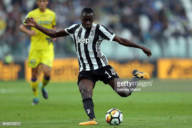 Blaise Matuidi of Juventus FC in action during the Serie A match between Juventus and AC Chievo Verona on September 9 2017 in Turin Italy