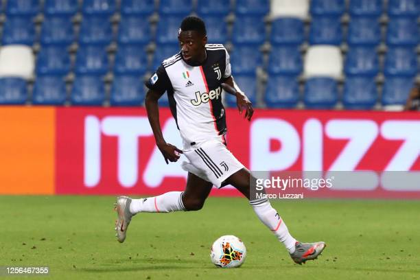 Blaise Matuidi of Juventus FC in action during the Serie A match between US Sassuolo and Juventus at Mapei Sadium Citta del Tricolore on July 15 2020...