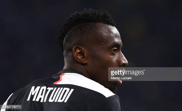 Blaise Matuidi of Juventus FC looks on during the Serie A match between Juventus and Parma Calcio at Allianz Stadium on January 19, 2020 in Turin,...