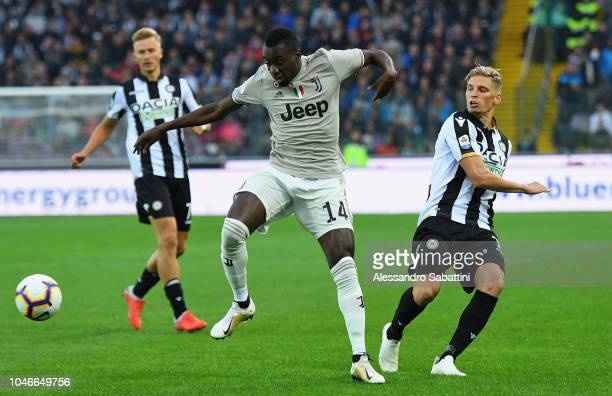 Blaise Matuidi of Juventus in action during the Serie A match between Udinese and Juventus at Stadio Friuli on October 6 2018 in Udine Italy