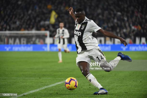 Blaise Matuidi of Juventus in action during the Serie A match between Juventus and Cagliari on November 3 2018 in Turin Italy
