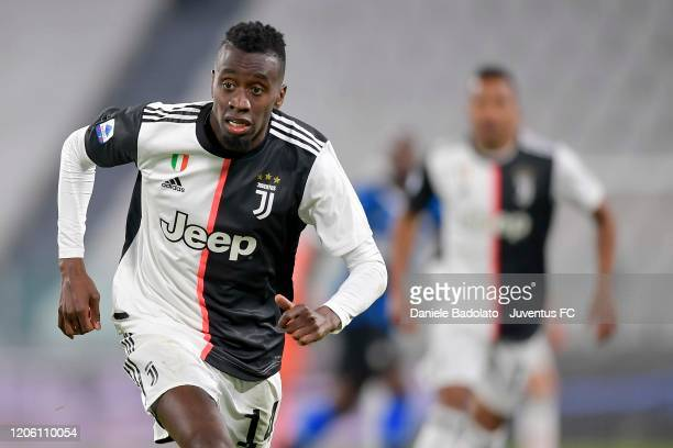 Blaise Matuidi of Juventus in action during the Serie A match between Juventus and FC Internazionale at Allianz Stadium played behind closed doors...
