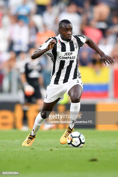Blaise Matuidi of Juventus in action during the Serie A match between Juventus and Cagliari Calcio at Allianz Stadium on August 19 2017 in Turin Italy