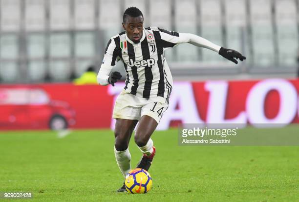 Blaise Matuidi of Juventus in action during the Serie A match between Juventus and Genoa CFC on January 22 2018 in Turin Italy