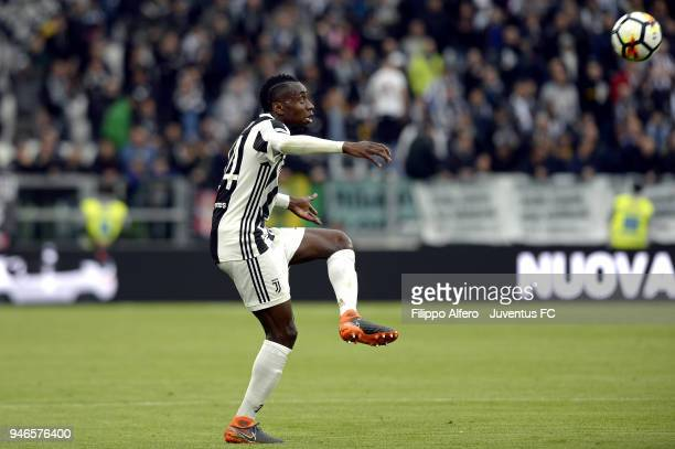 Blaise Matuidi of Juventus in action during the serie A match between Juventus and UC Sampdoria at Allianz Stadium on April 15 2018 in Turin Italy