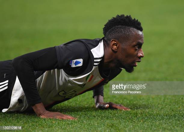 Blaise Matuidi of Juventus reacts during the Serie A match between SSC Napoli and Juventus at Stadio San Paolo on January 26, 2020 in Naples, Italy.