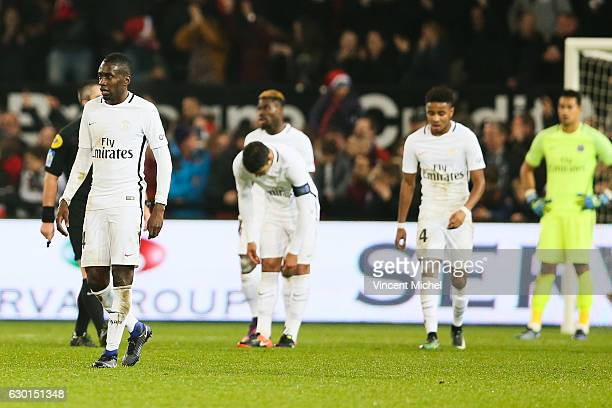 Blaise Matuidi of Paris Saint Germain during the French Ligue 1 match between Guingamp and Paris Saint Germain at Stade du Roudourou on December 17...