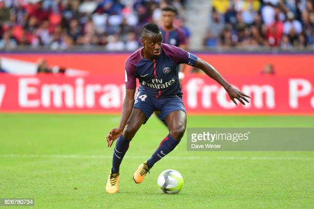 Blaise Matuidi of PSG during the Ligue 1 match between Paris Saint Germain and Amiens SC at Parc des Princes on August 5 2017 in Paris France