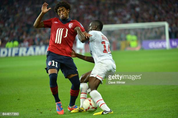 Blaise MATUIDI / Ryan Isaac DA GRACA MENDES Lille / PSG 3eme journee de Ligue 1 2012/2013 Photo Dave WInter / Icon Sport