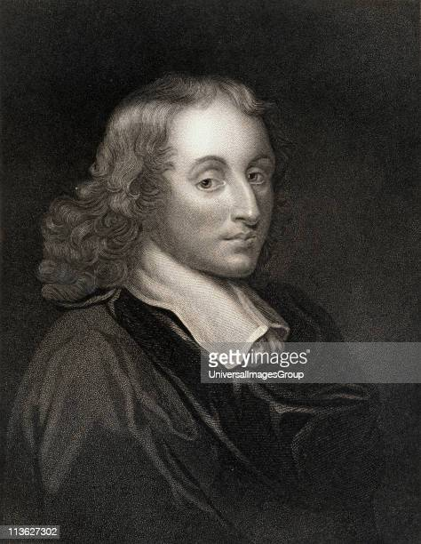 Blaise Pascal16231662 French mathematician physicist religious philosopher and master of French prose From the book 'Gallery of Portraits' published...