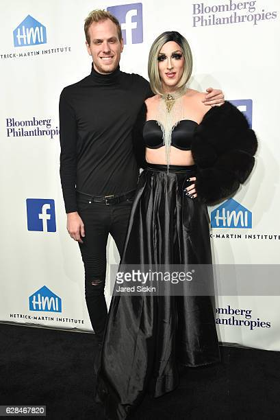 Blake Allen and Marti Gould Cummings attend the HetrickMartin Institute's 30th Annual Emery Awards Help Me Imagine at Cipriani Wall Street on...