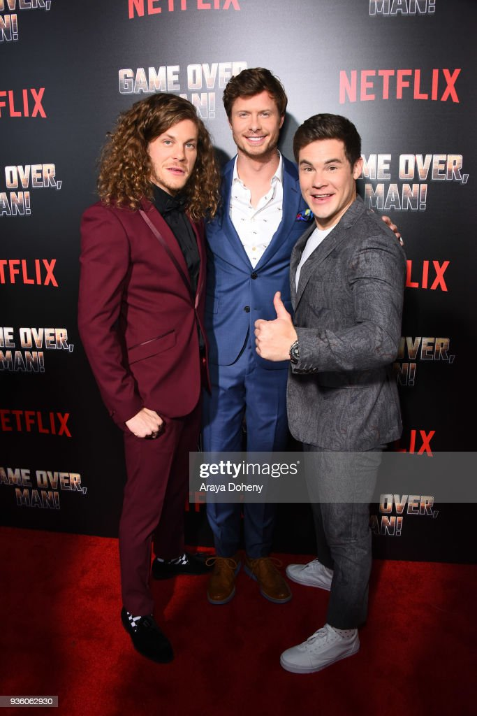 """Premiere Of Netflix's """"Game Over, Man!"""" - Red Carpet : News Photo"""